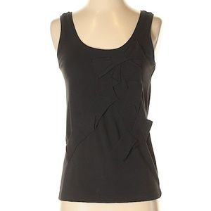 WKND SALE! | KATE SPADE Black Tank with Bow Detail